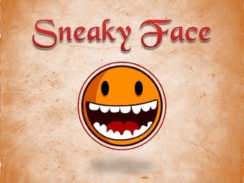 Sneaky Face Letters