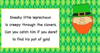 Sneaky Leprechaun: A song to practice composing