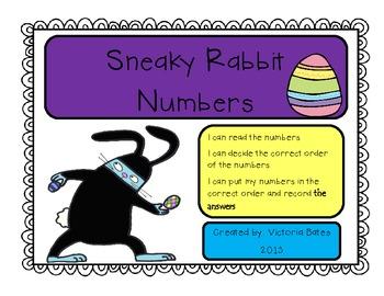 Sneaky Rabbit Number Order