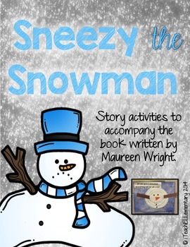 Sneezy the Snowman Activity Packet
