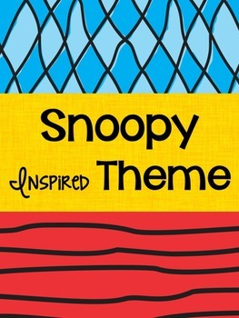 Snoopy Inspired Theme