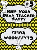 Snoopy Themed Whole Brain Classroom Rules