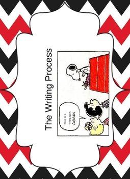 Snoopy Writing Process Chart