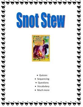 Snot Stew Novel Study