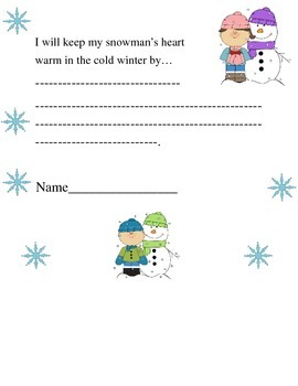 Snow Activity Packet