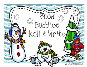 Snow Buddies Roll and Write
