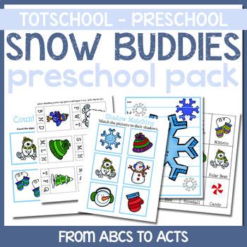 Snow Buddies Tot School/Pre-K Pack