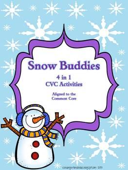 Snow Buddy CVC 4 in 1 Activity set