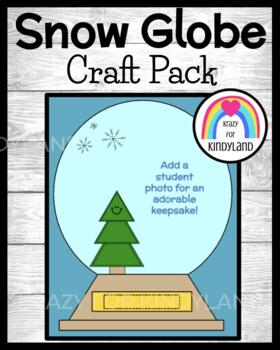 Winter Craft: Snow Globe Photo Keepsake