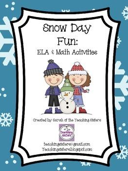 Snow Day Activities (2nd Grade)