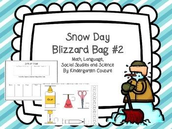 Snow Day Blizzard Bag #2