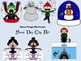 Snow Day Clip Art Set -- PNG Format -- Commercial or Personal Use