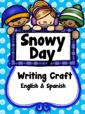 Snowy Day Writing Craft (English & Spanish)