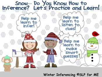 Snow... Do You Know How to Inference?  Let's Practice and