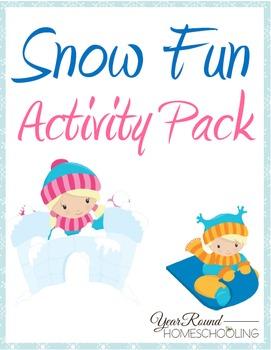 Snow Fun Activity Pack