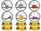 Snow Globe Centers:  Sight Words, CVC Words and Counting/N