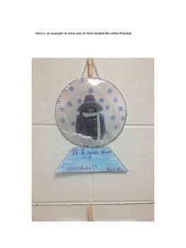 Snow Globe Creative Writing Project