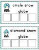 Snow Globe Shape Sorting