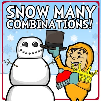 Snow Many Combinations! A Snowman Problem-Solving Game & P