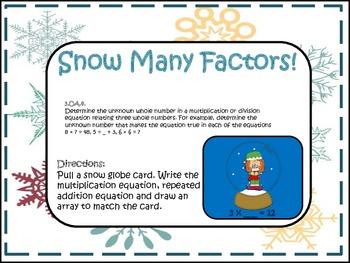 Snow Many Factors!! (Missing Factors)