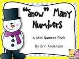 """Snow"" Many Numbers Mini Pack"
