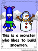 Snow Monsters  (A Sight Word Emergent Reader and Teacher L