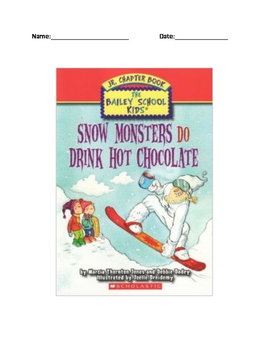Snow Monsters Do Drink Hot Chocolate