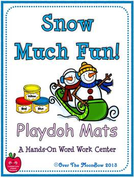 Snow Much Fun! Playdoh Activity Pack