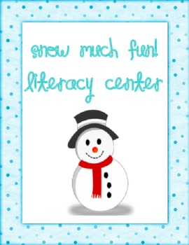 Snow Much Fun Reading Center -- January