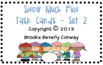 Snow Much Fun - Set 2 Freebie