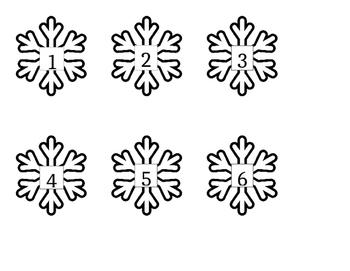 Snow Number Match (1-20)