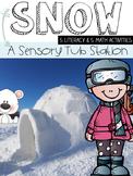 Snow Sensory Tub