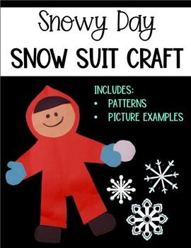 Snowy Day Snow Suit Craft