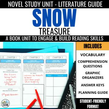 Snow Treasure Foldable Novel Study Unit