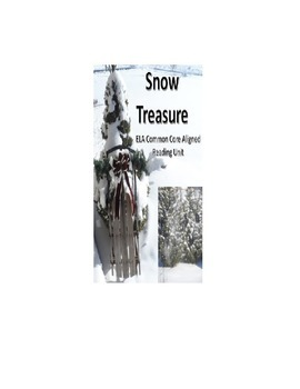 Snow Treasure ELA Common Core Aligned Unit