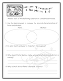Snow Treasure by Marie McSwigan Activities Vocab Questions Test