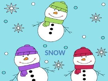 Snow (Unit 3) Journeys Kindergarten Common Core Reading Series