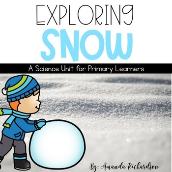 Snow Unit: Snow Formation, Snow Safety, People and Animals
