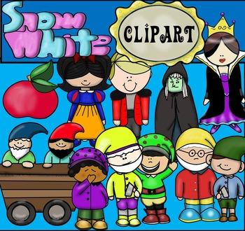 Snow White Clip Art