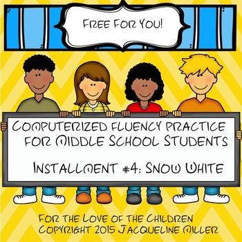 FREE Interactive PowerPoint Fluency Practice for MS Studen