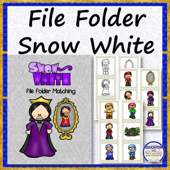 FILE FOLDER Snow White