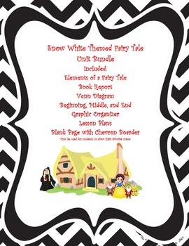 Snow White Themed Fairy Tale Unit Bundle