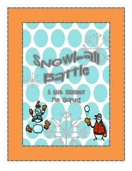 Snowball Battle: Graphing Assessment for Common Core