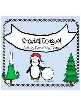 Snowball Dodger: Auditory Processing Game