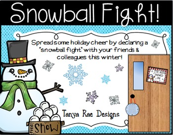 Snowball Fight - A Fun Winter Activity
