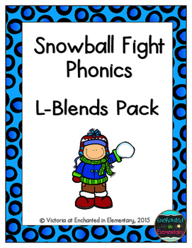 Snowball Fight Phonics: L-Blends Pack