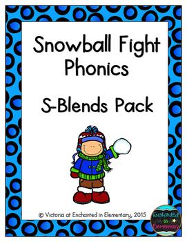 Snowball Fight Phonics: S-Blends Pack