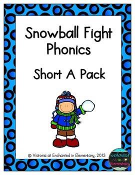 Snowball Fight Phonics: Short A Pack
