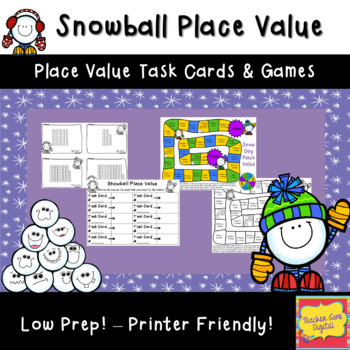 Snowball Place Value Activites