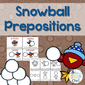 Snowball Prepositions